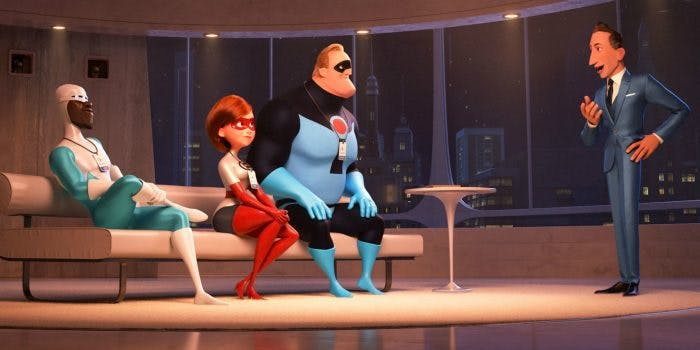 The 'Incredibles' get a bit of rebranding in 'Incredibles 2'.