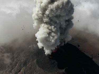 Researchers in Guatemala Are Watching Volcanoes Erupt With Drones