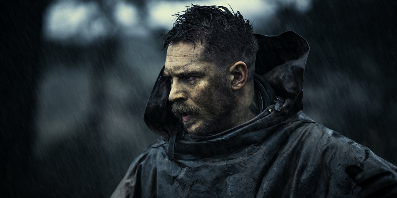 Tom Hardy in his new FX shiw 'Taboo'