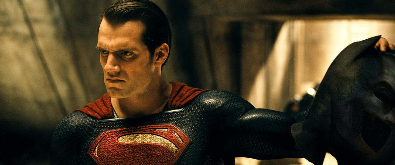 This Superman frowns a lot.