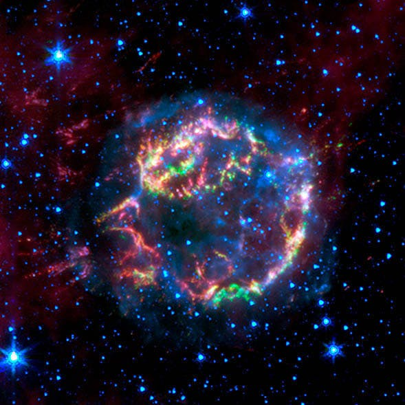 cassiopedia a supernova remnant