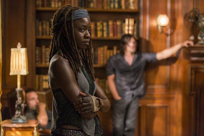Danai Gurira as Michonne on 'The Walking Dead'
