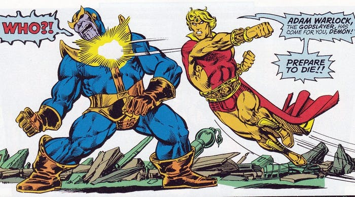 The Infinity Gauntlet Adam Warlock Avengers