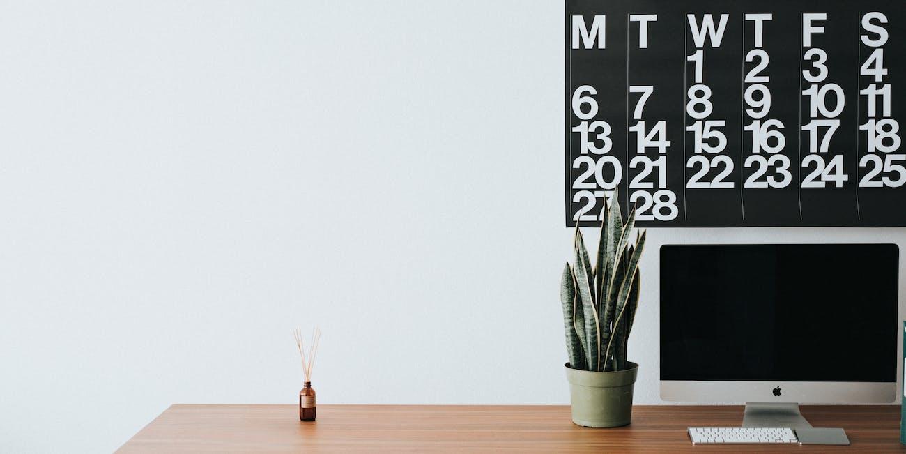 28 day calendar.