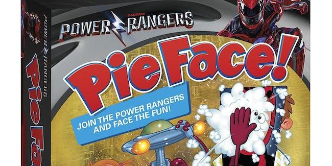 Power Rangers Pie Face Game Hasbro