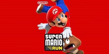 Super Mario Run for iPhone from Nintendo