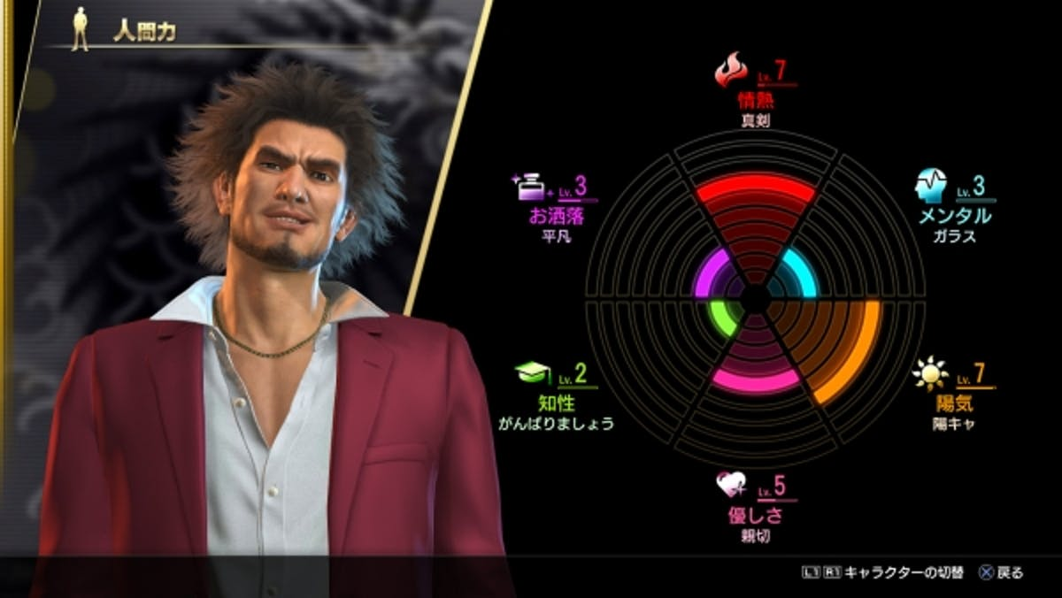 yakuza like a dragon life experience
