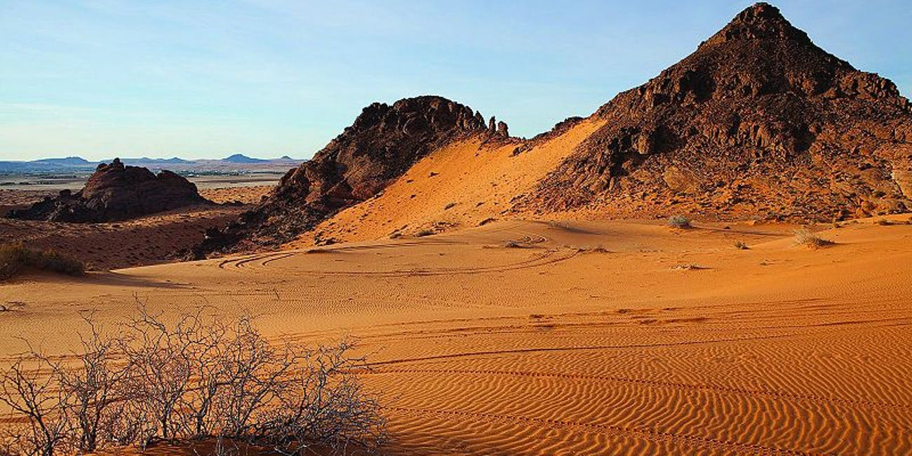 Nefud Desert, Saudi Arabia