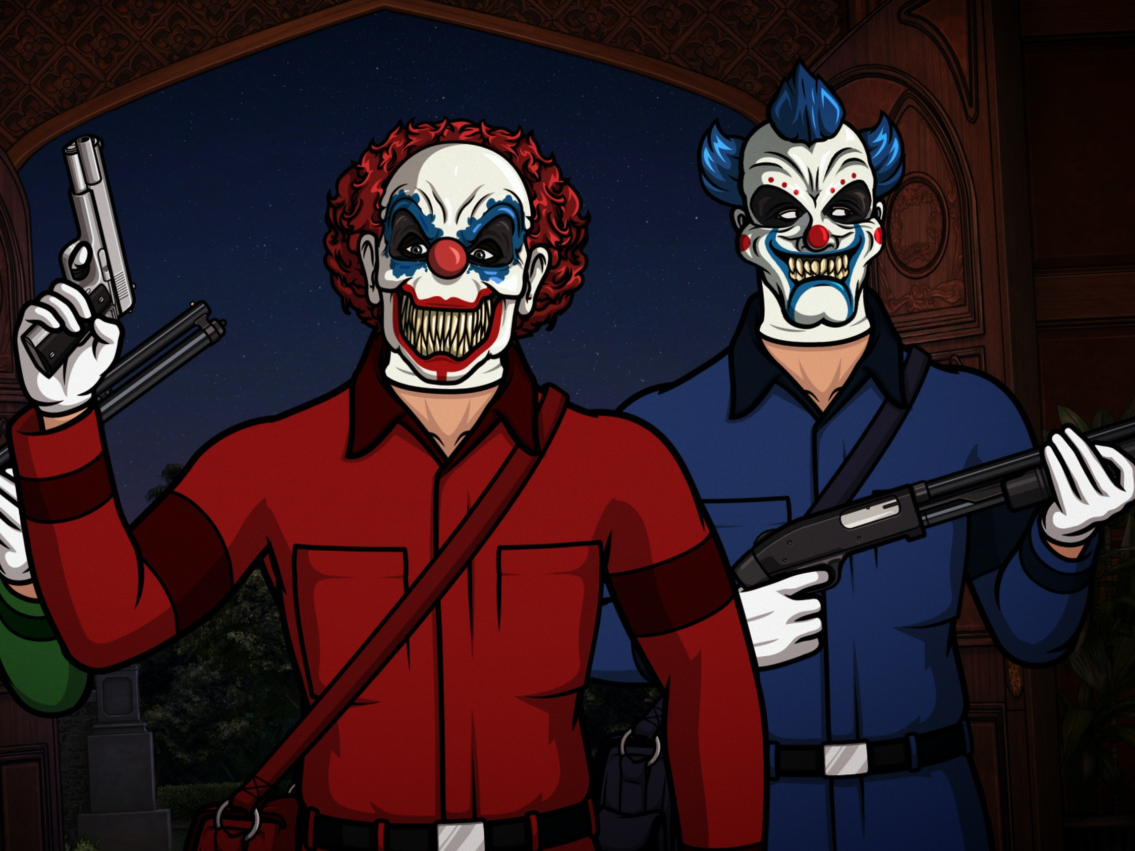The 'Archer' Gang Battles Hostage-Taking Juggalos