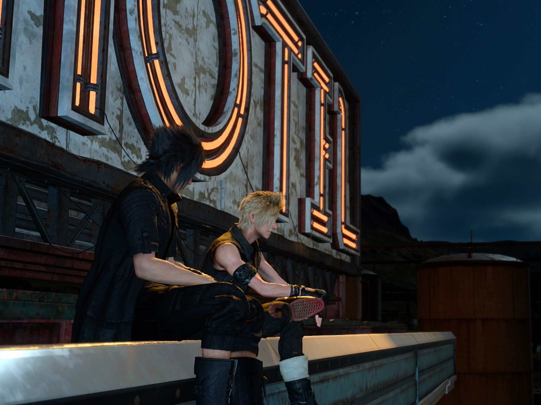 The Combat in 'Final Fantasy XV' Needs Room to Stretch