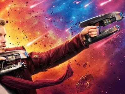 Chris Pratt Flew a Real Jet Pack in 'Guardians of the Galaxy Vol. 2'