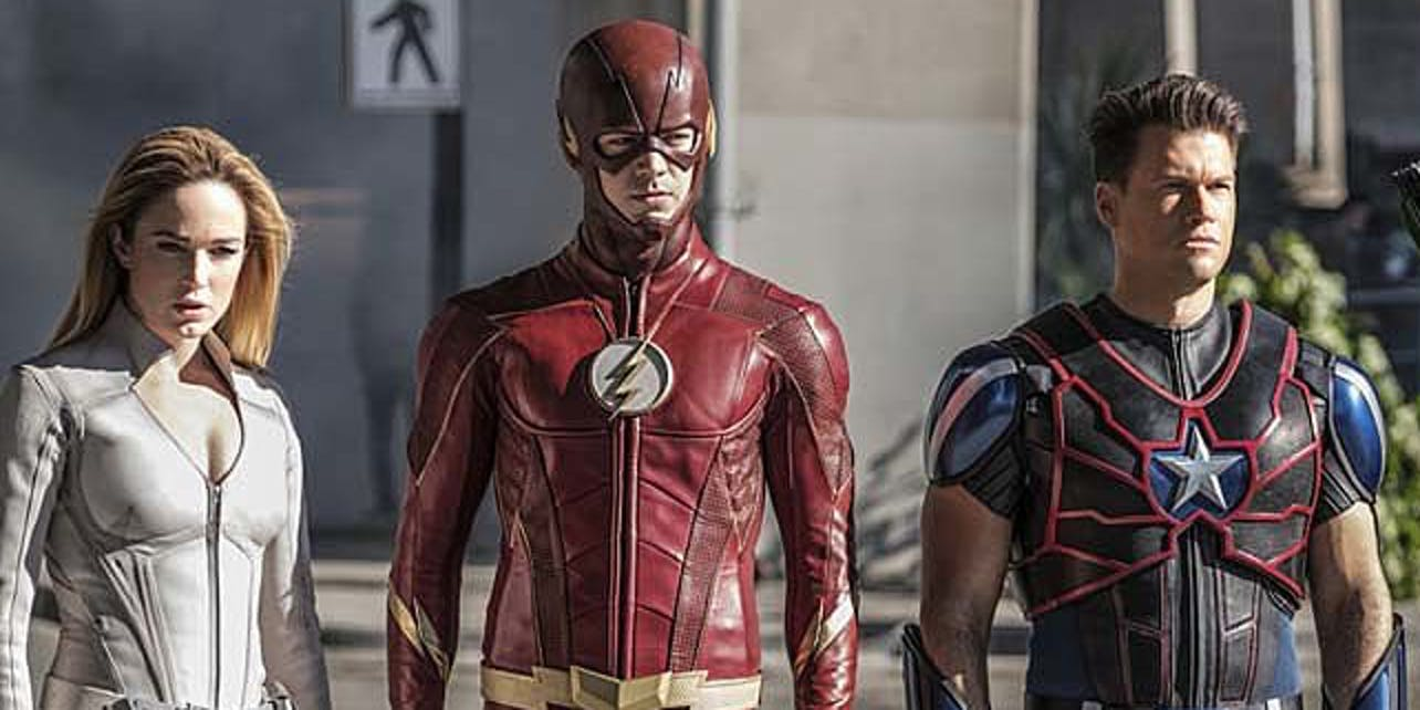 'The Flash' delivers a delightful crossover moment.