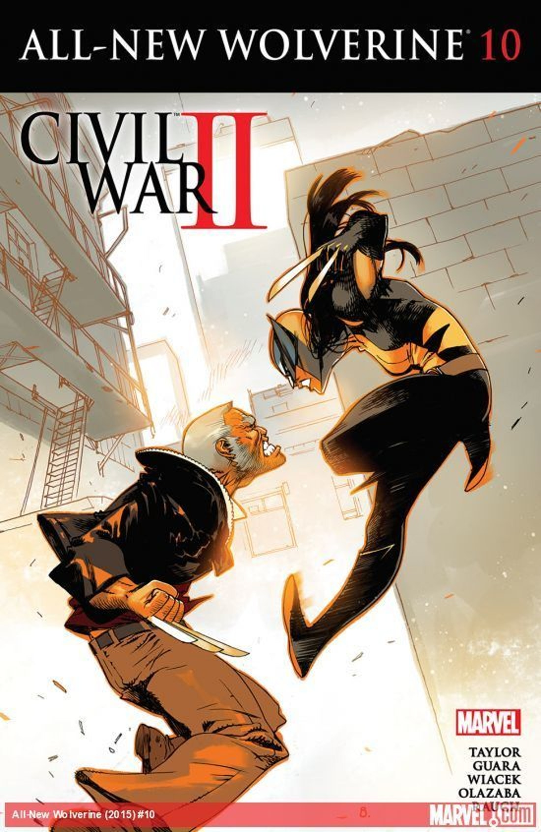 All-New Wolverine Issue 10 Old Man Logan X-23