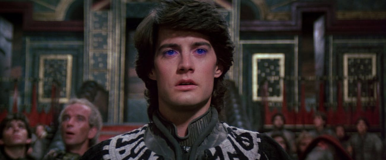 Kyle Maclachlan in David Lynch's 'Dune'