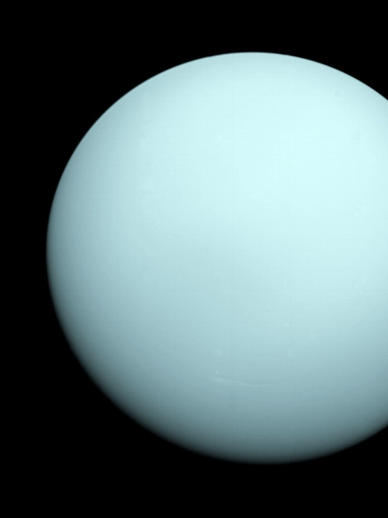 Uranus from Voyager 2