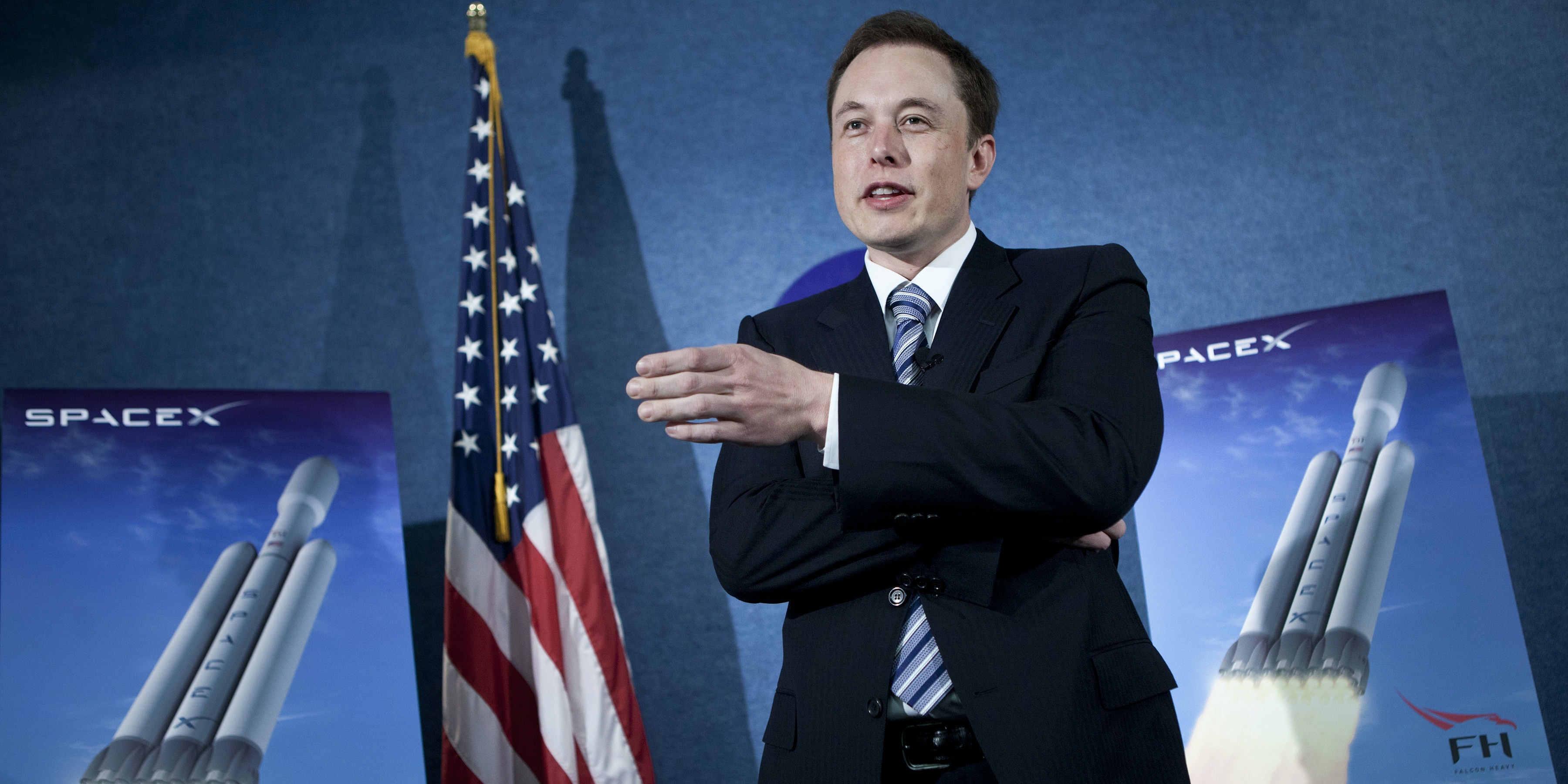 Elon Musk described 'Mars Colonial Transport Architecture' in an interview with GQ Magazine.