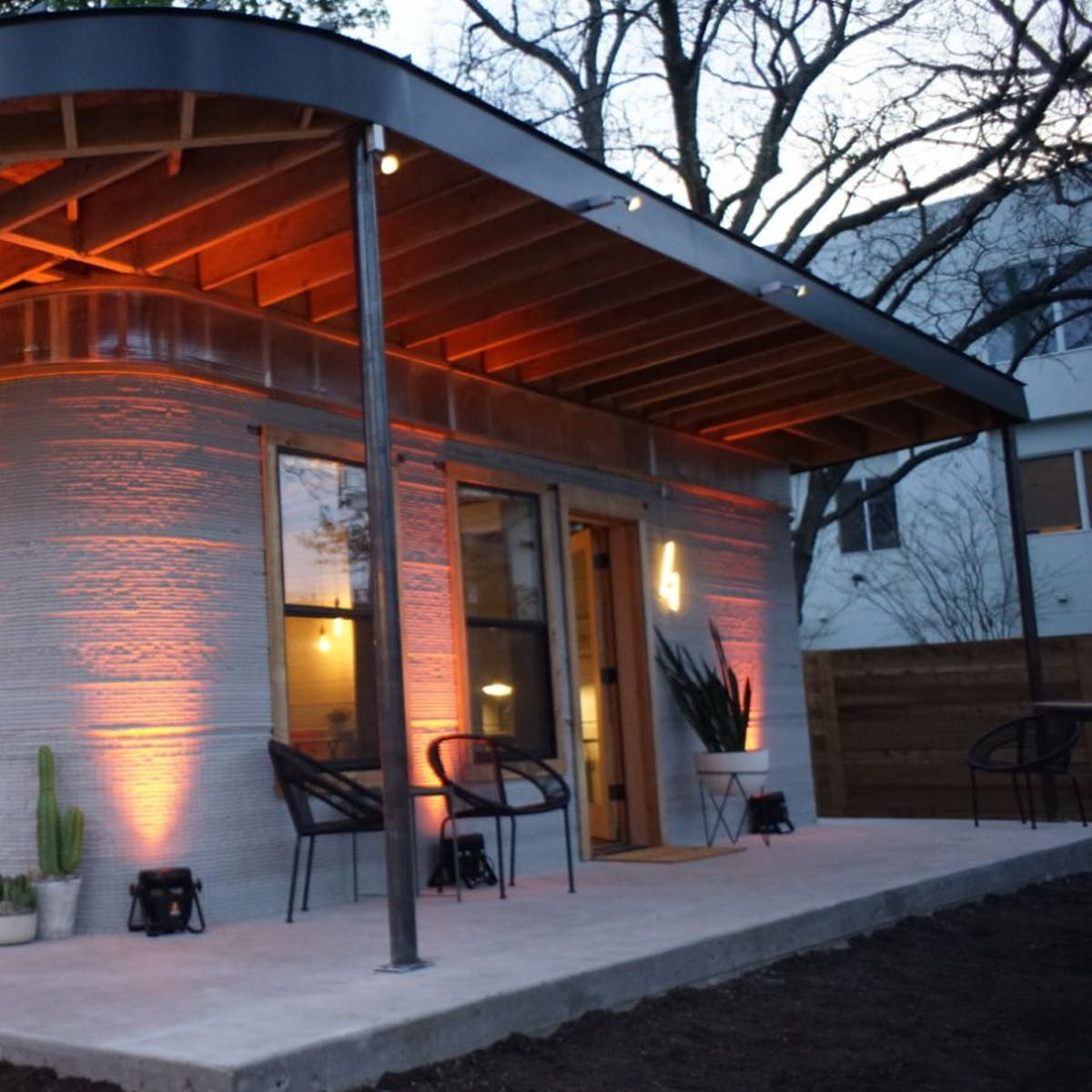 This 3D-Printed House Was Finished in a Day and Costs Less Than $10,000