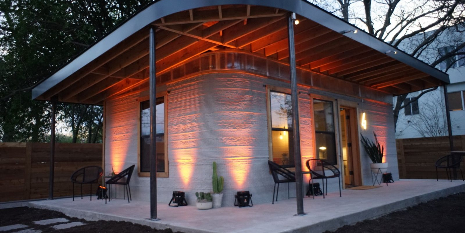 3D-Printed House Finished in a Day, Costs Less Than $10,000