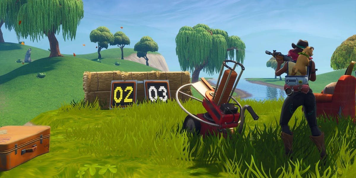Fortnite Clay Pigeon Shooter Locations Map And Video Guide For Week 8