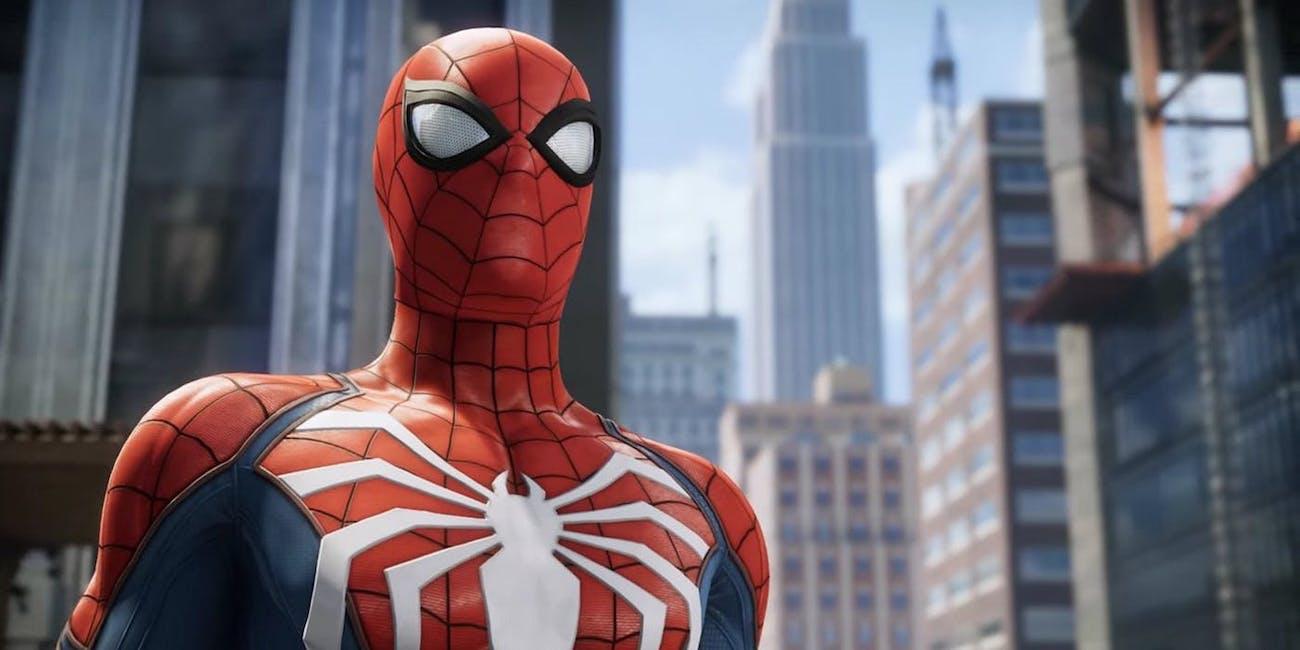 'Spider-Man' PS4 Advanced Suit White Spider