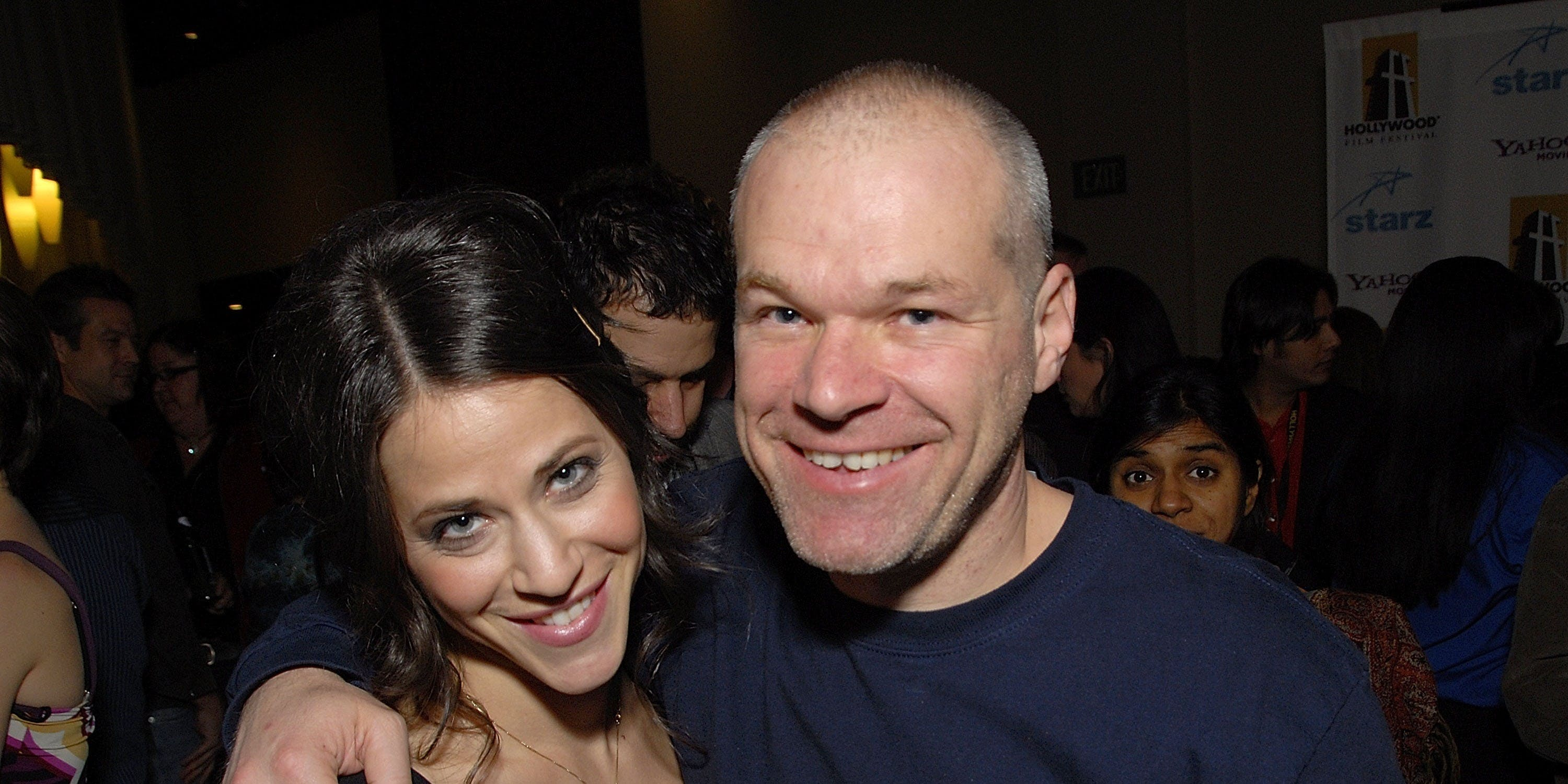 LOS ANGELES, CA - OCTOBER 21:  Actress Jackie Tohn and director Uwe Boll attend the 2007 Hollywood Film Festival day five awards ceremony and after-party at the Arclight theatres on October 21, 2007 in Los Angeles, California.  (Photo by Charley Gallay/Getty Images)