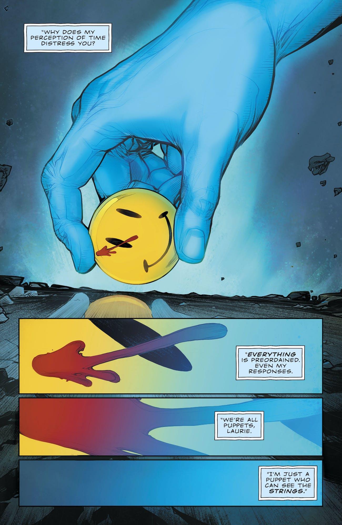 Doomsday Clock The Button Batman Flash
