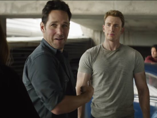 Ant-Man Meeting Captain America in 'Civil War' Clip Is The Best of Marvel