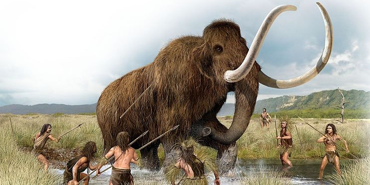 How Neanderthals and Woolly Mammoths Grew 'Genetically Similar' in the Cold