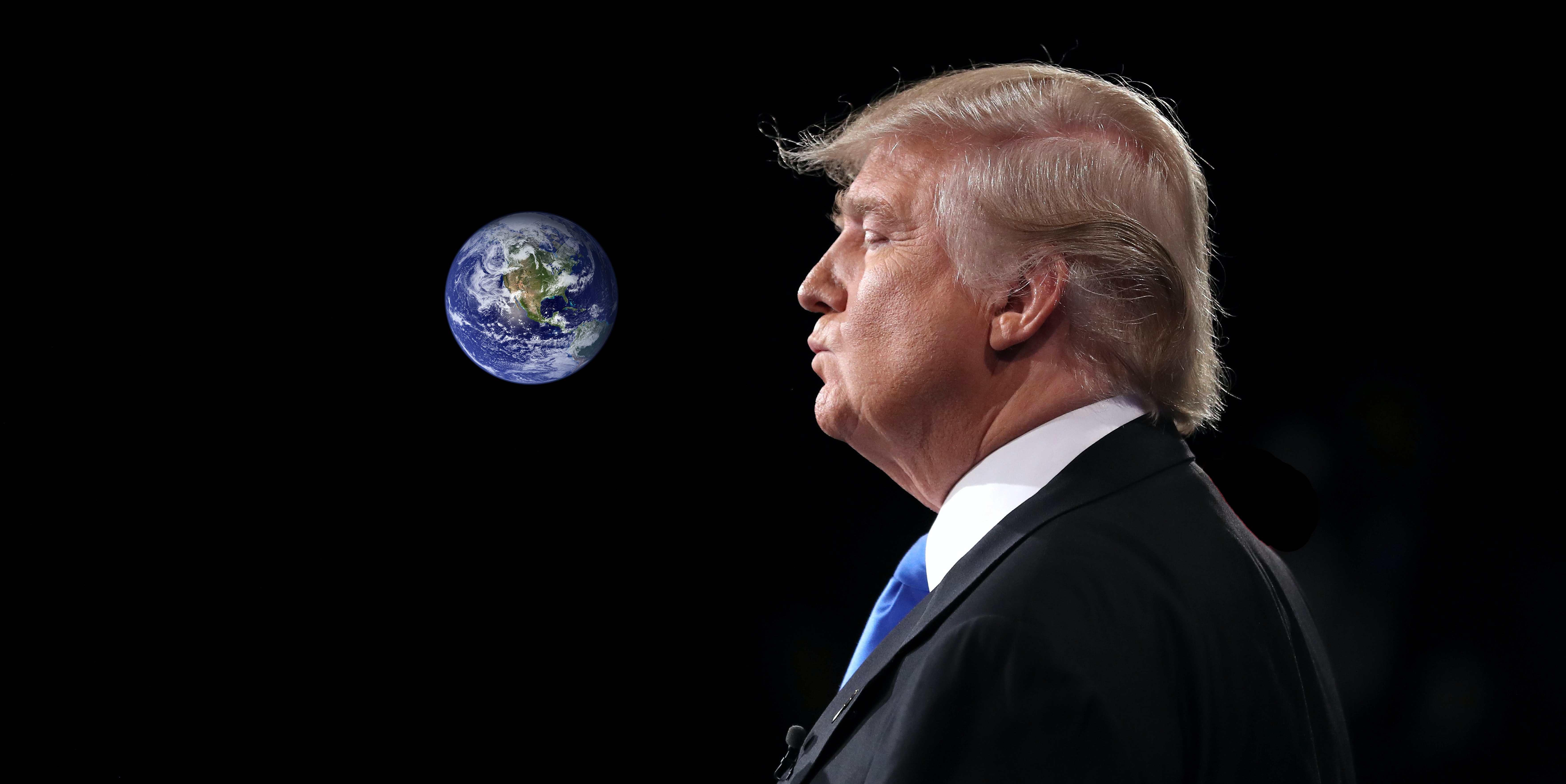 Neil deGrasse Tyson wants to send Donald Trump to space to save the Earth.