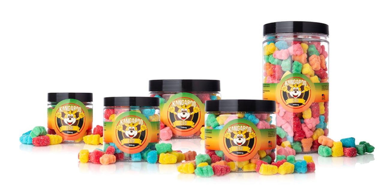 High Potency CBD Sour Bear Gummies