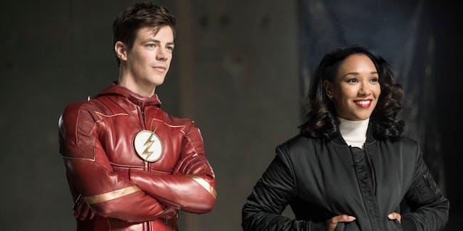 Barry and Iris The Flash Season 4