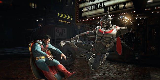 Injustice 2 NetherRealm Studios Batman Superman