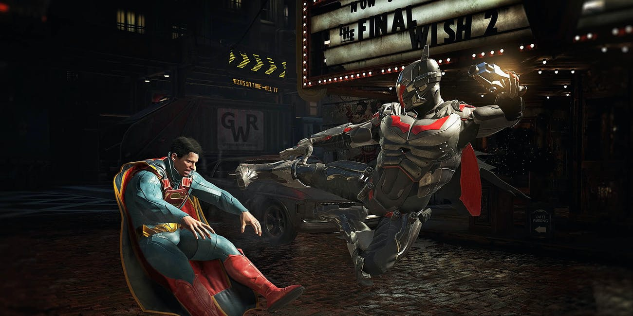 Injustice 2 NetherRealm Studios Batman Superman