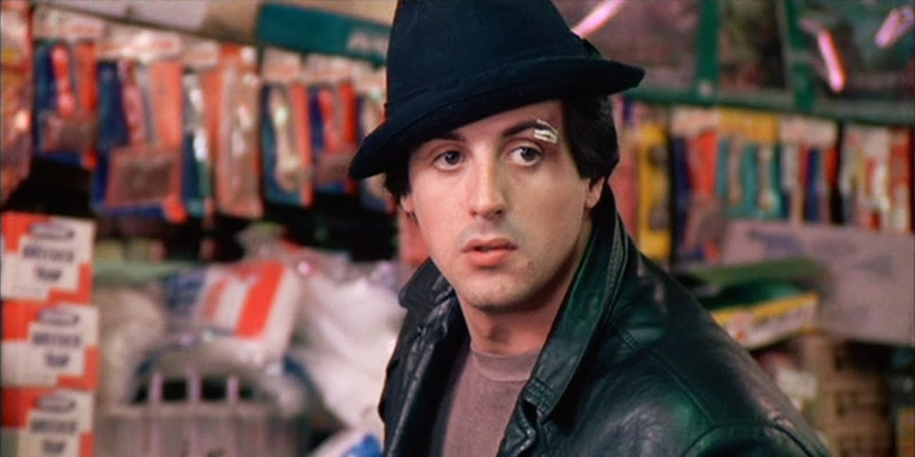 Sylvester Stallone as the ultimate underdog in 'Rocky'