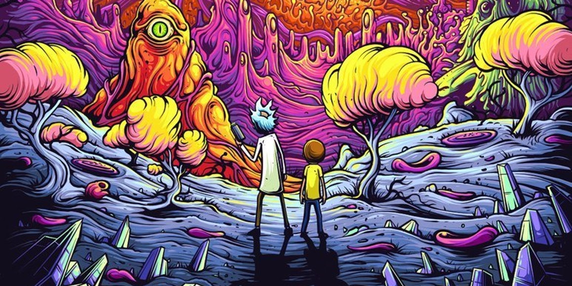 Ranking the Squanchiest 'Rick and Morty' Art From Adult Swim