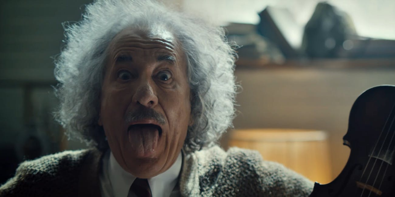 How Long Before Albert Einstein Has Sex in the 'Genius