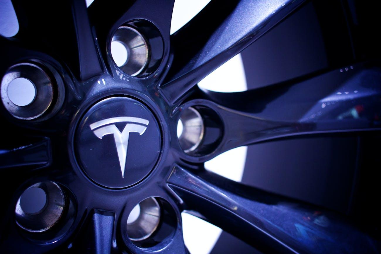 Tesla alloy wheels