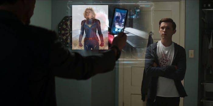 'Captain America: Civil War' Tony Stark recruits Peter Parker.