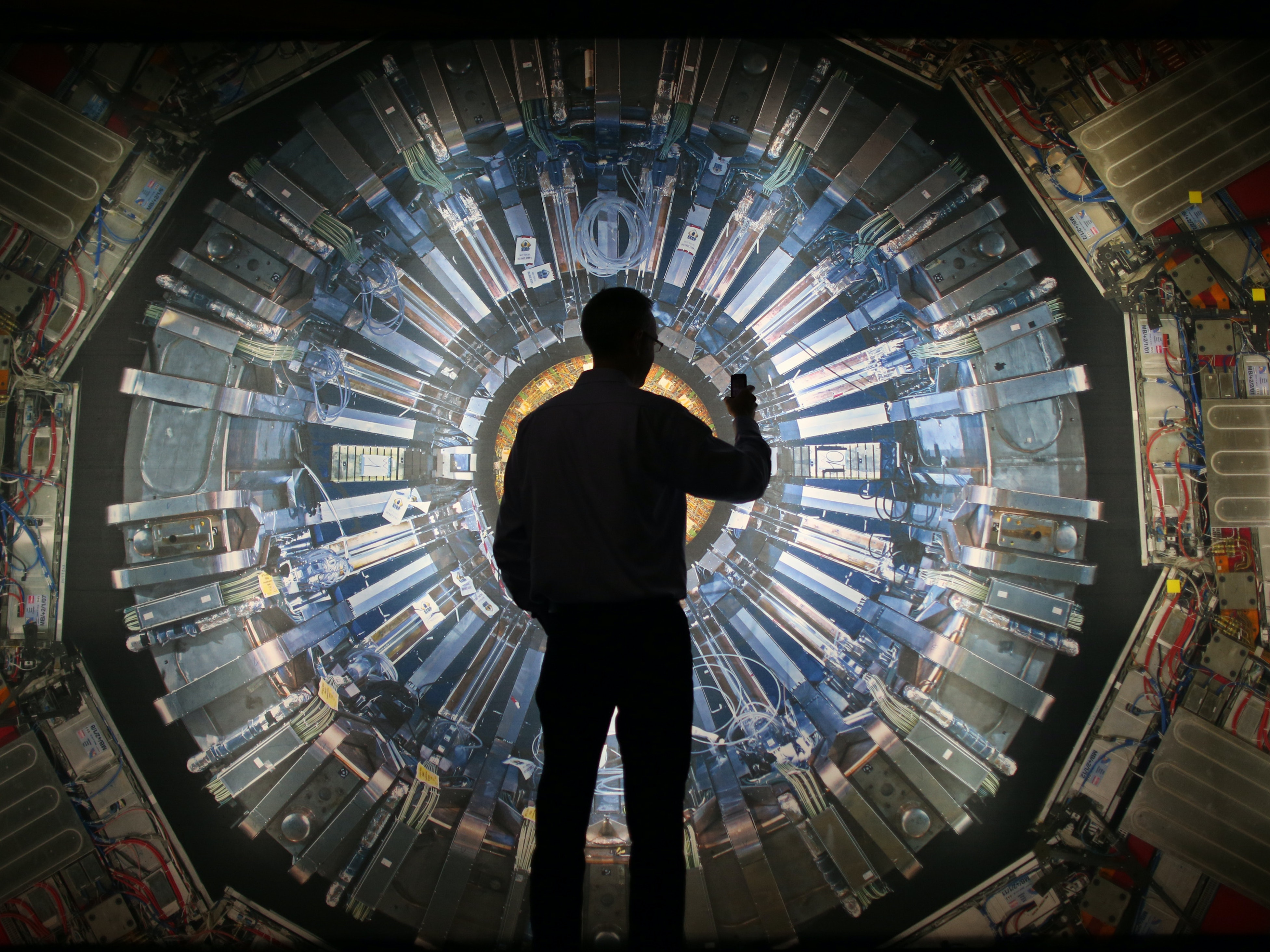 Scientists working on results from the Large Hadron Collider report the first indications of something strange.