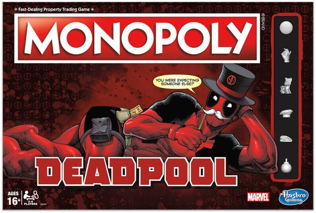 At least you can play as Deadpool's unicorn.