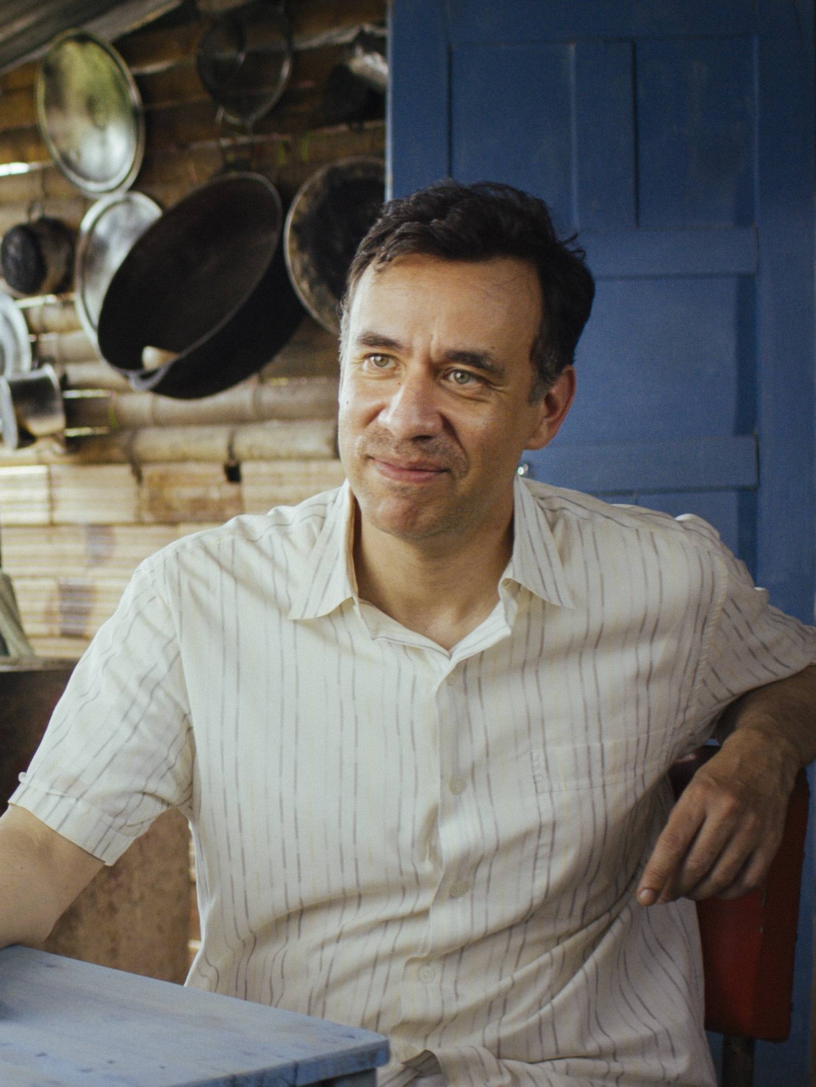 "Fred Armisen stars in the 'Documentary Now' episode, ""Juan Likes Rice and Chicken""."