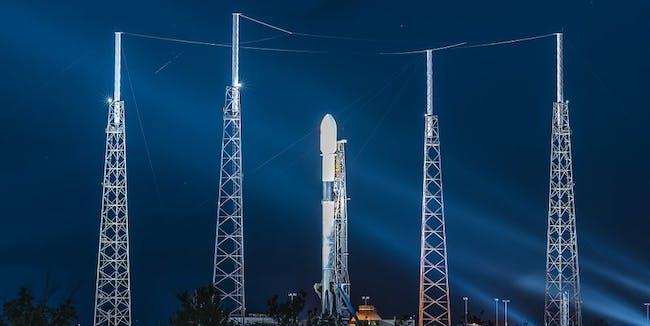 SpaceX Merah Putih Launch
