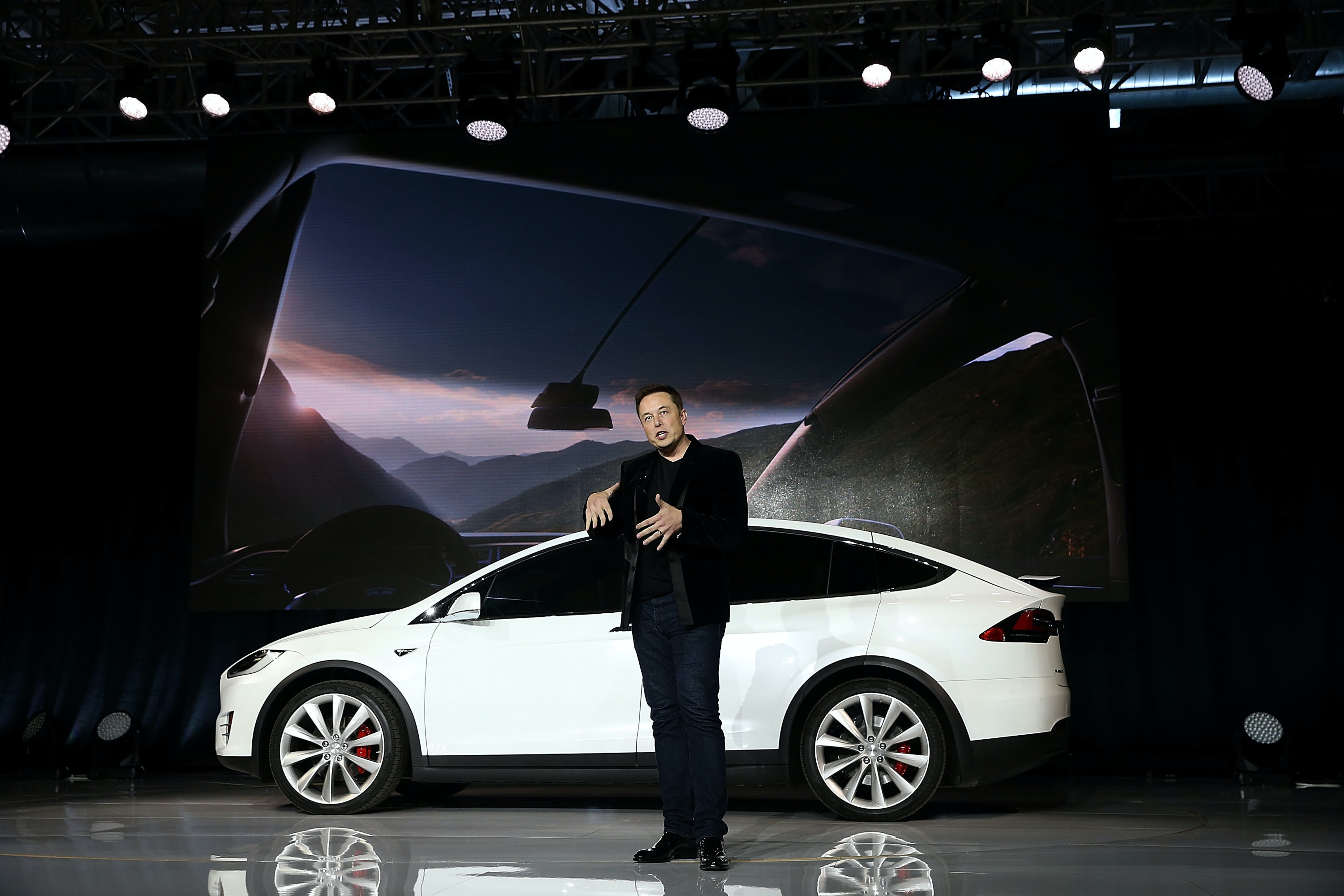 Tesla CEO Elon Musk has made clear his self-driving car ambitions. Apple is entering a crowded space with big competitors.