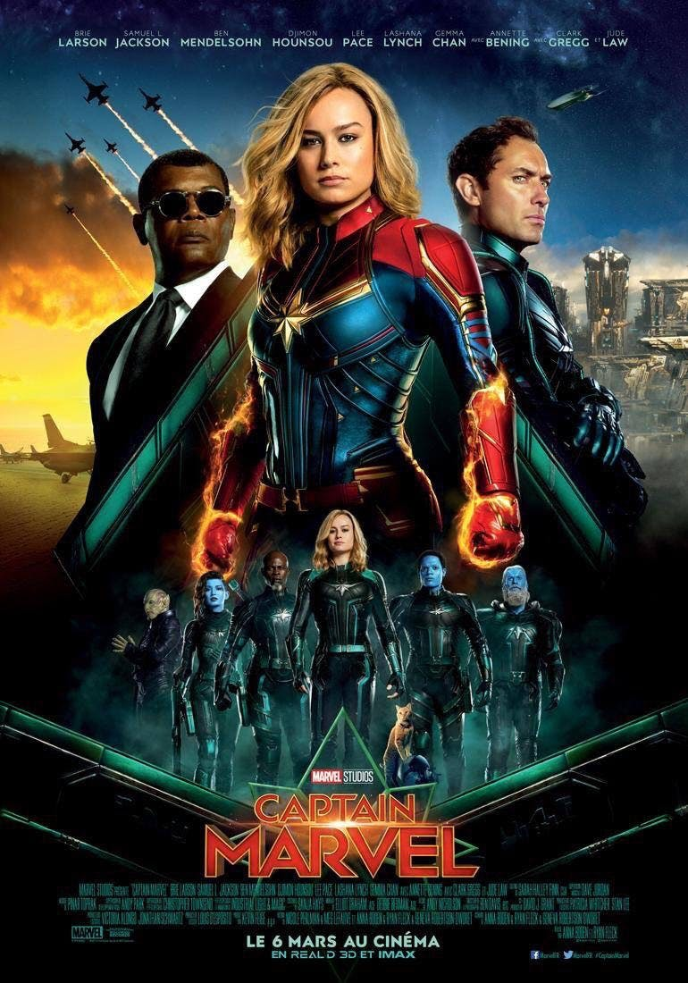 Captain Marvel Story Plot Release Date Super Bowl Trailer And