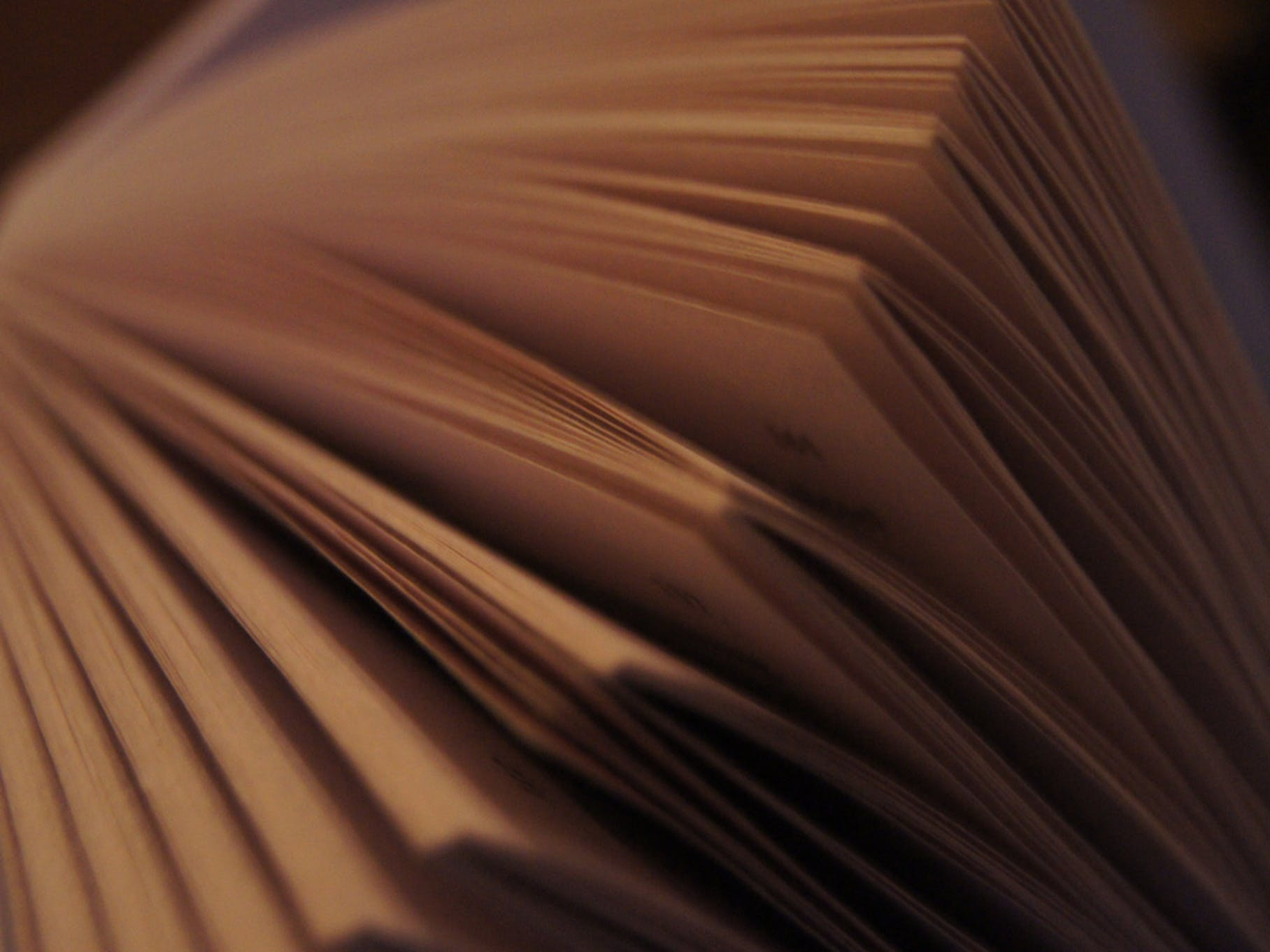 Book pages.