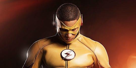Wally West as Kid Flash in 'The Flash' Season 3
