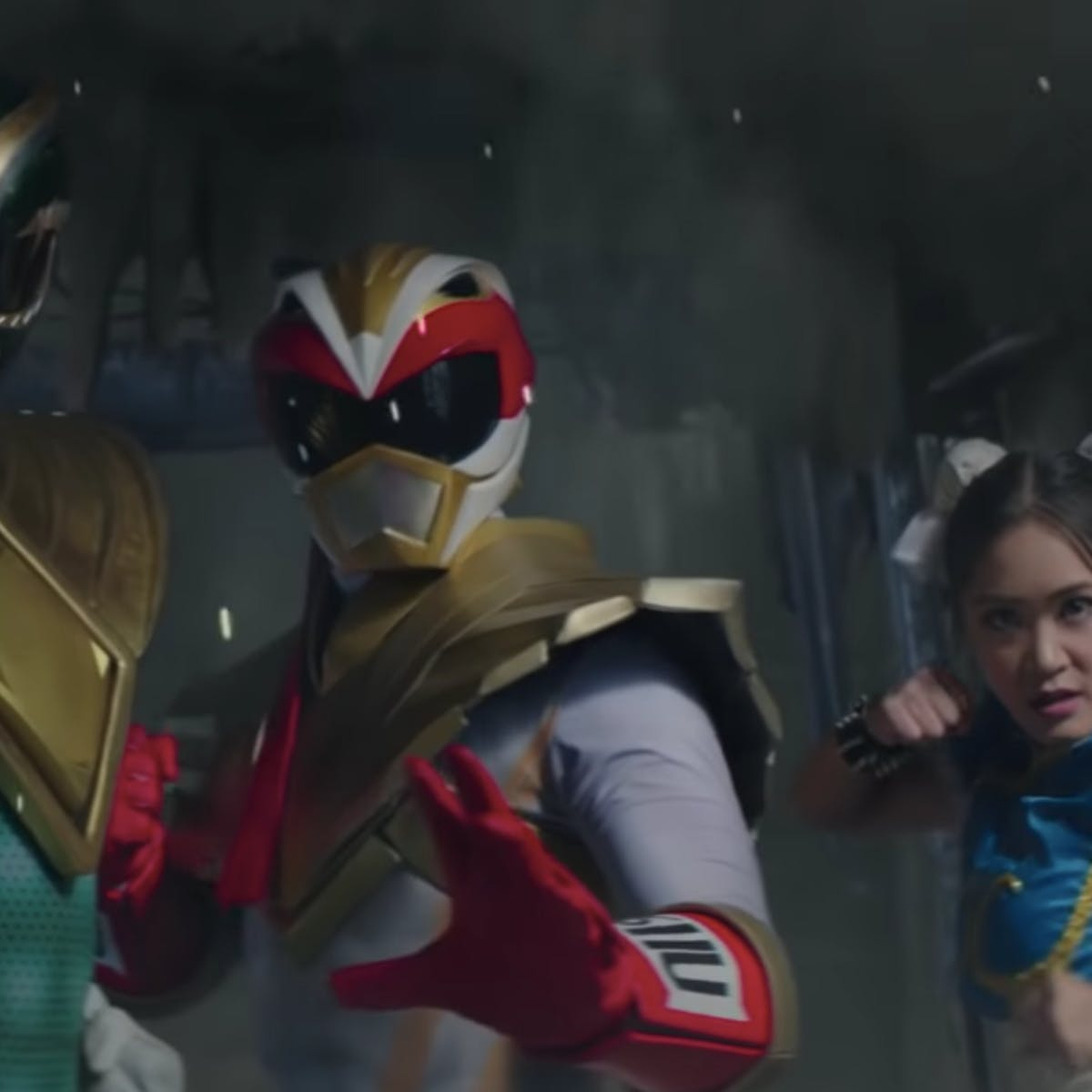 'Power Rangers Legacy Wars Street Fighter Showdown' Movie Debuts Ryu Ranger