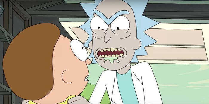 """""""Welcome to the darkest year of our adventures, Morty."""""""