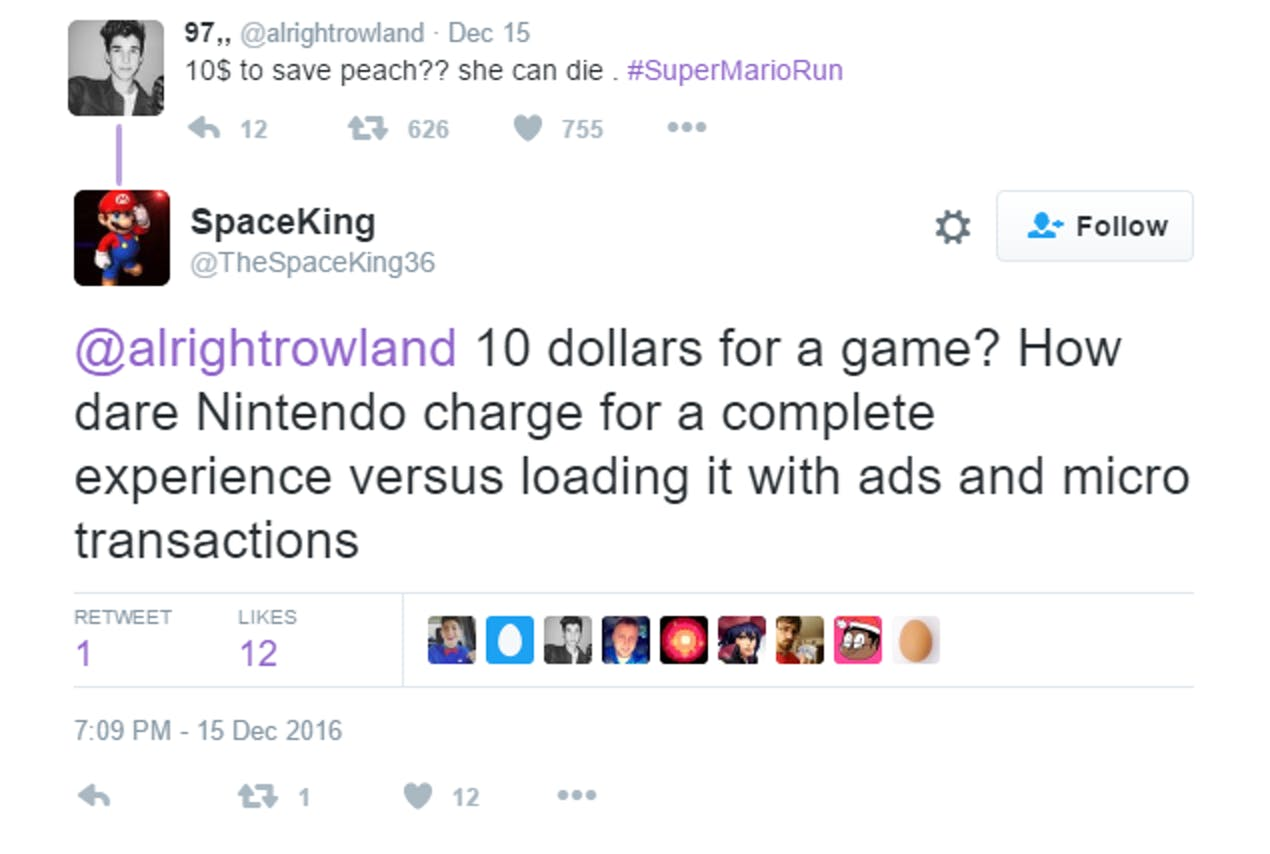 Fans Not Thrilled With 'Super Mario Run' Price | Inverse