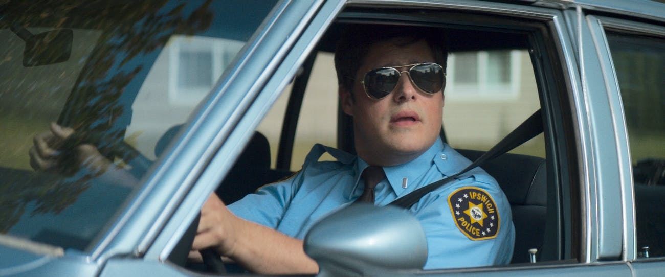 Officer Mackey is a nice bachelor that lives near Davey in 'Summer of '84'.